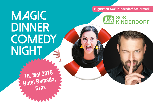 Magic Dinner Comedy Night