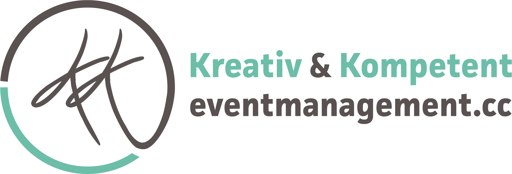 Logo K+K Eventmanagement quer